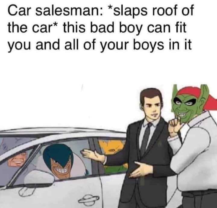 Dead meme in a dead meme