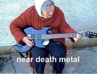 Metal till the grave.
