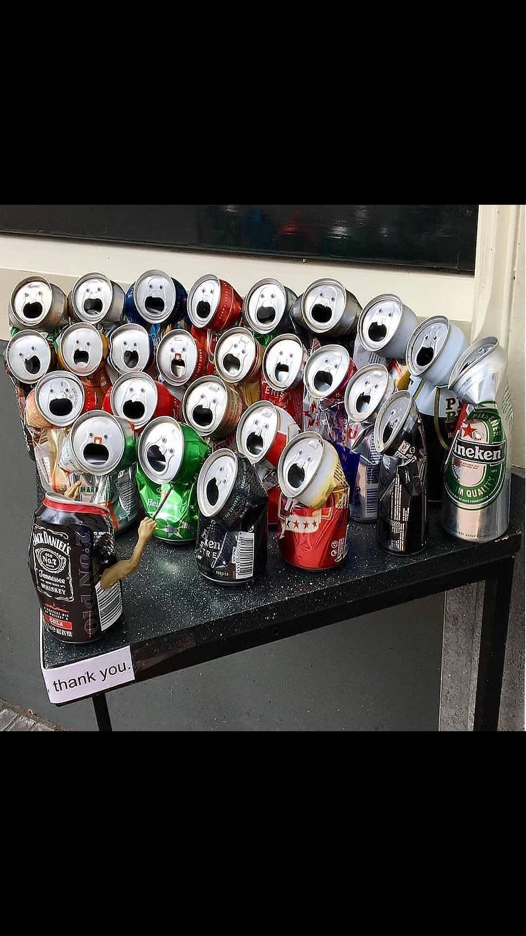 The Aluminium Can Choir