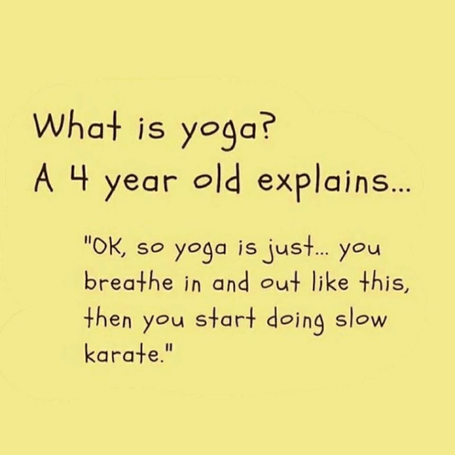 Yoga in a Nutshell