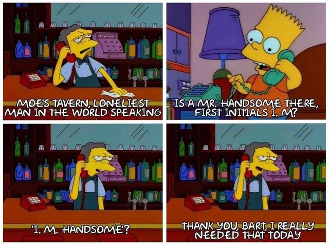 Wholesome Bart