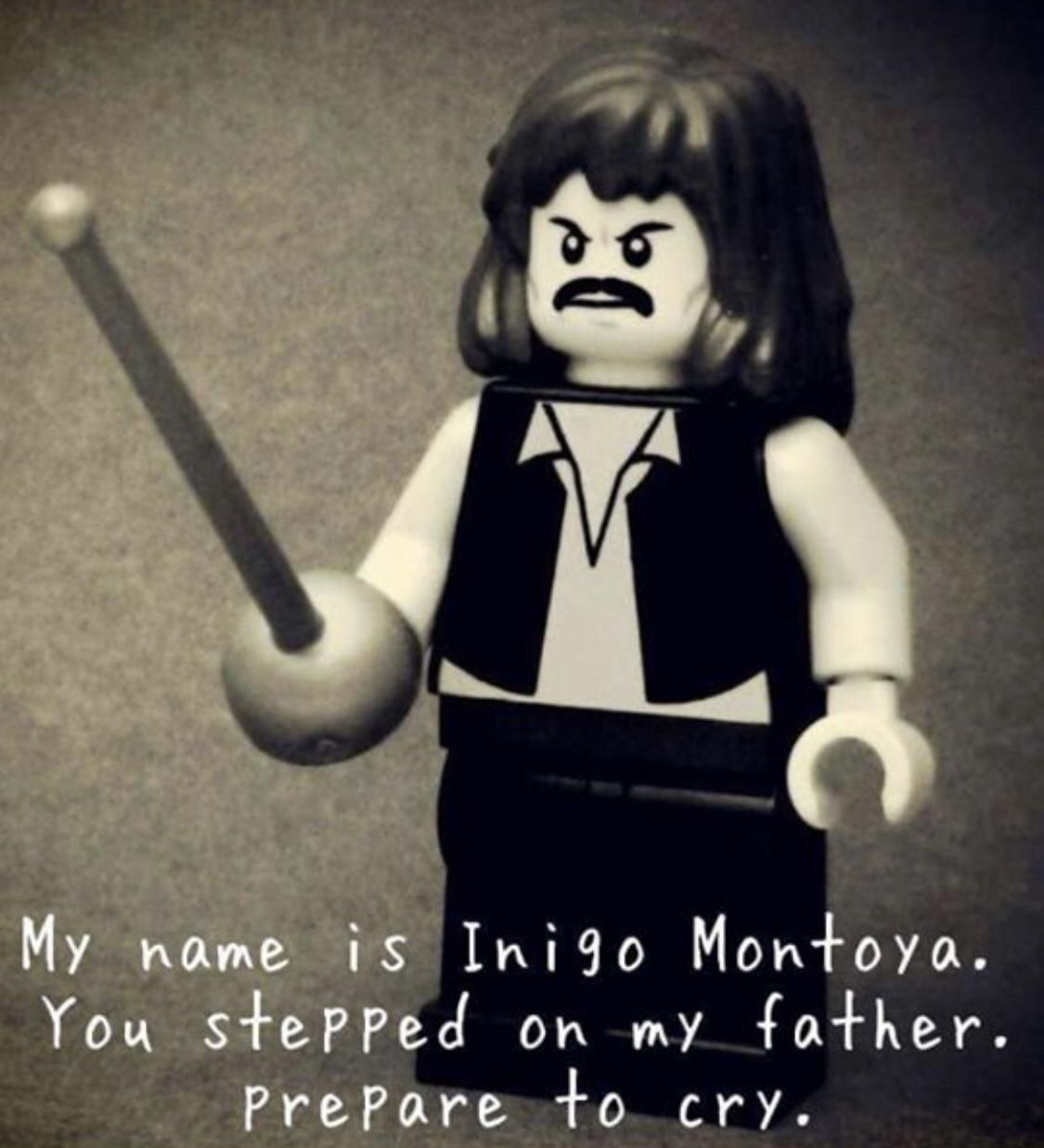 He'll never lego of his mission
