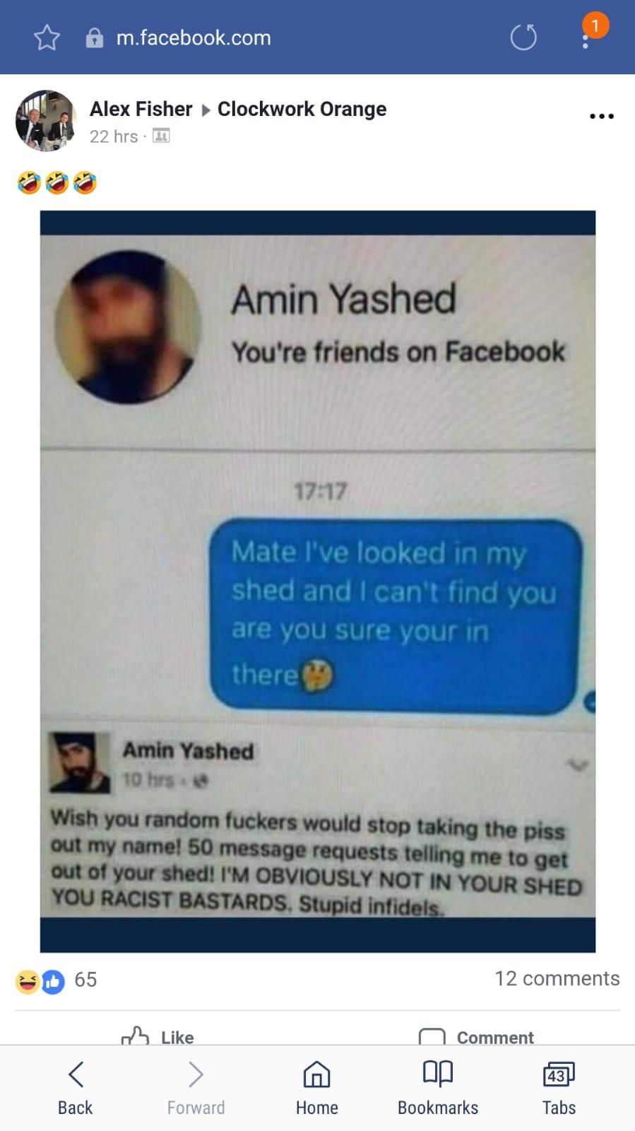 Amin Yashed - What a name