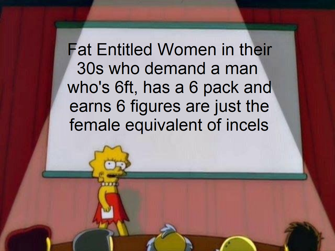 THICC is just a meme to normalise fat women! Only date anorexics