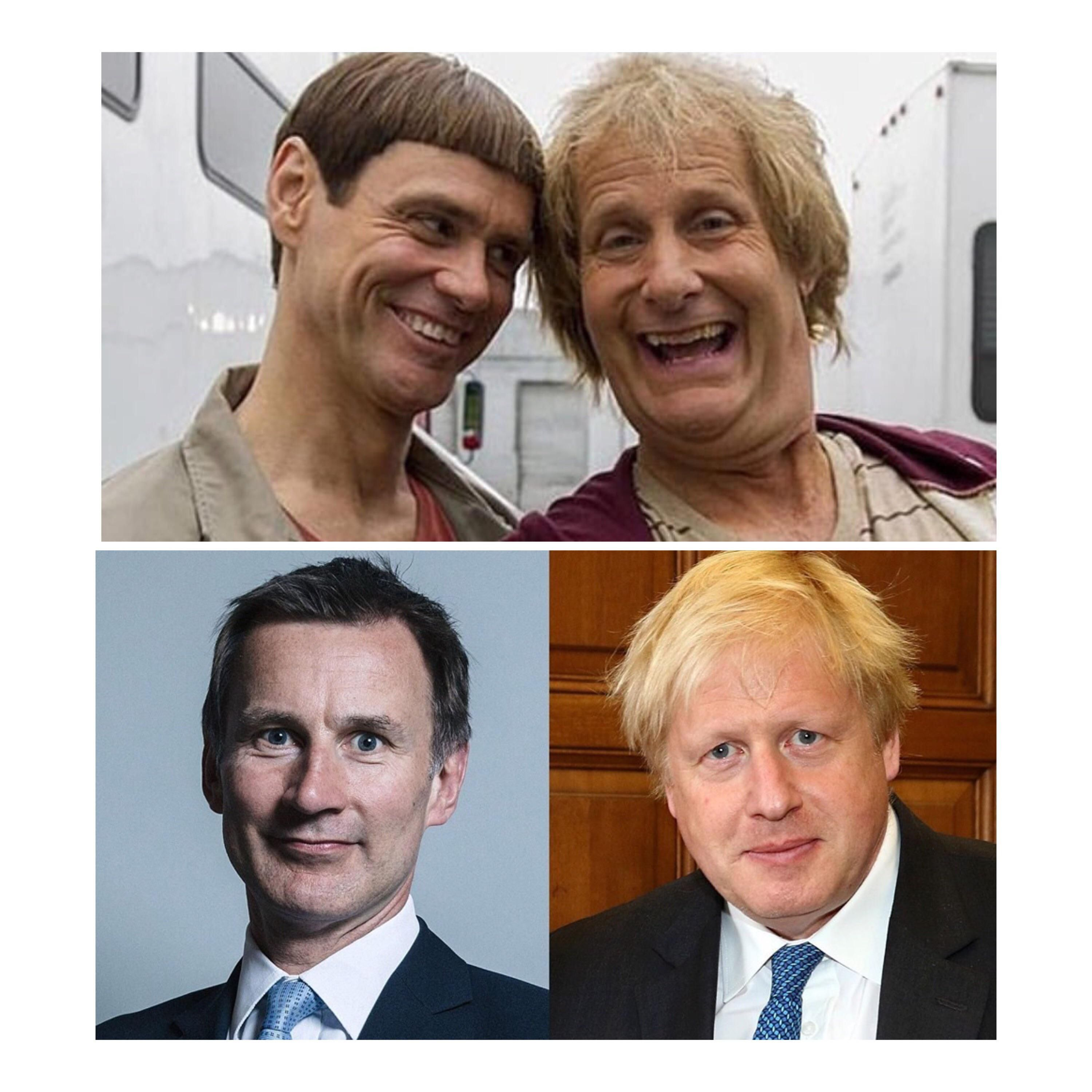 Ladies and gentlemen - the current U.K. leadership contenders.