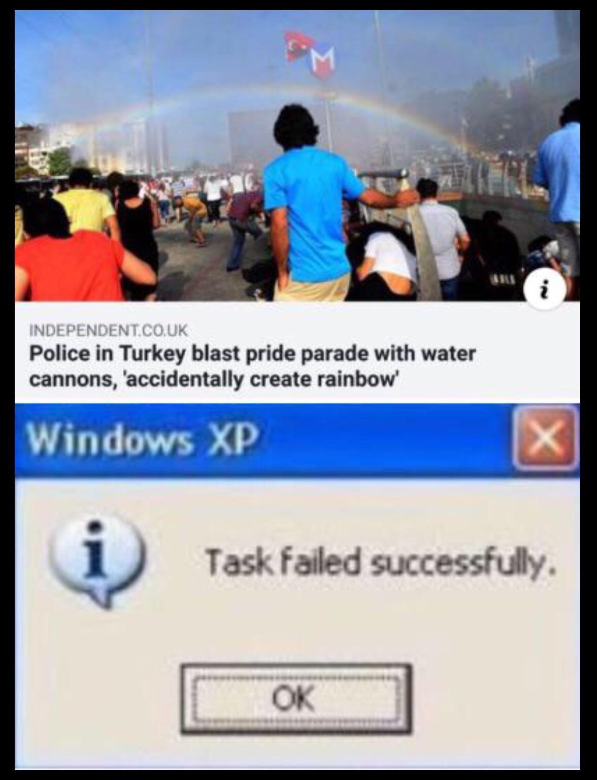 Turkey gotta relax