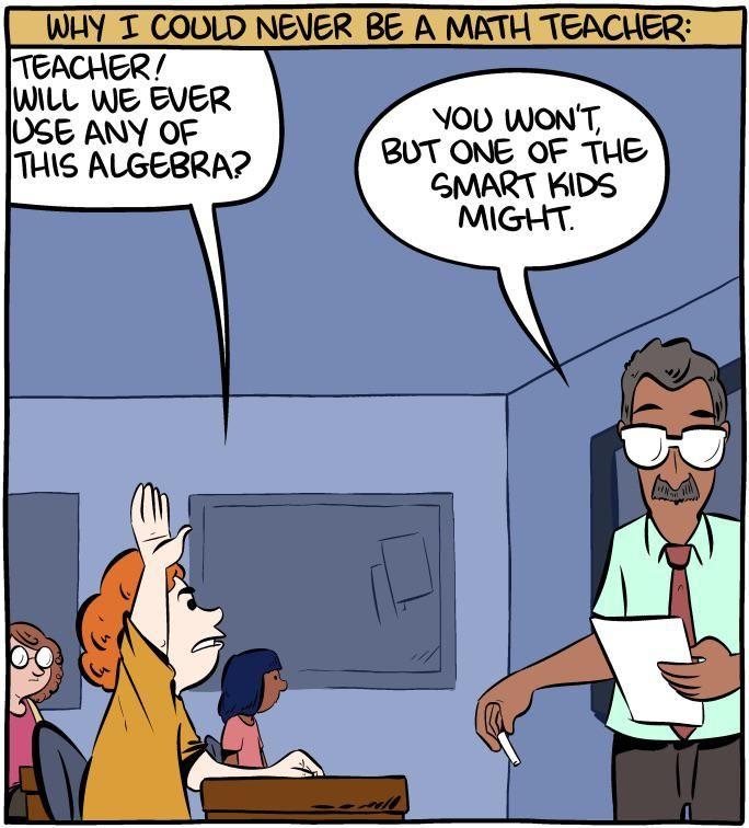 Why I won't be a teacher