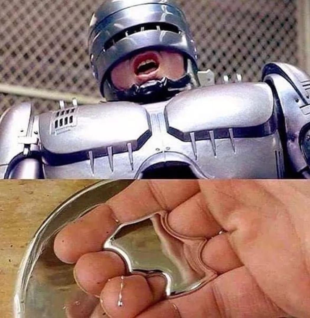 A happy ending for robocop.