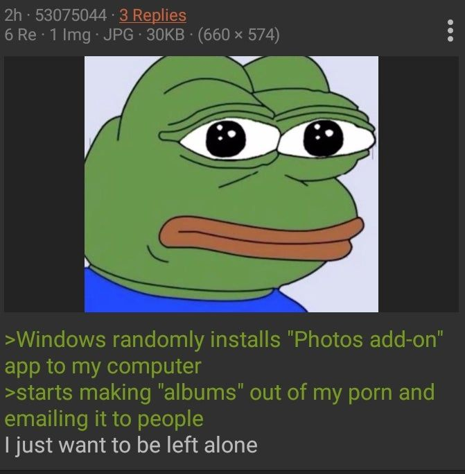 Anon learns what a virus is