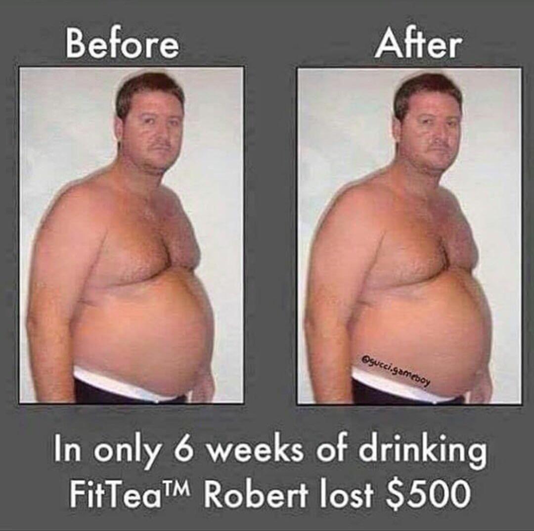 6 week result of drinking FitTea™