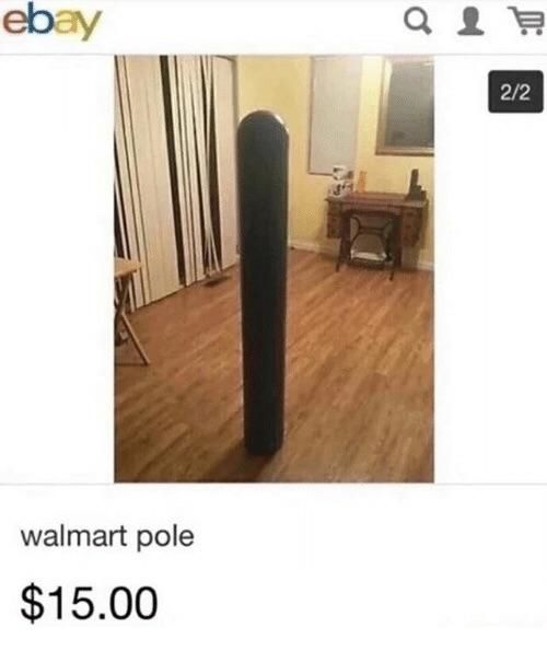 This listing on ebay got me cracked up for 20 minutes.