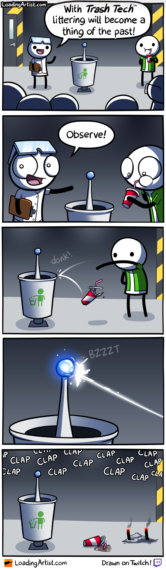 Ultimate solution to littering!