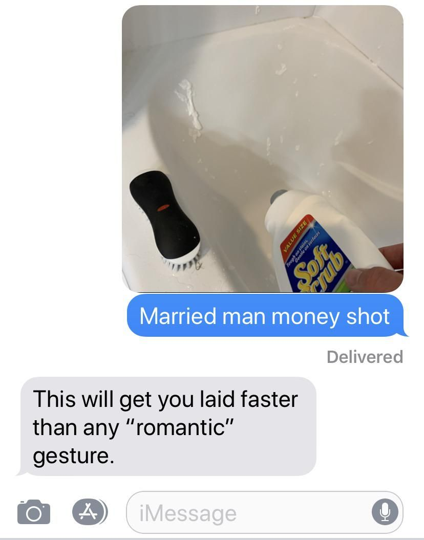Married sexting...
