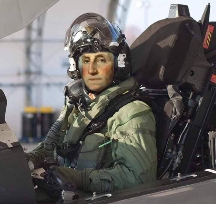 """""""I feel the need...the need for speed."""" -GW, 1776"""