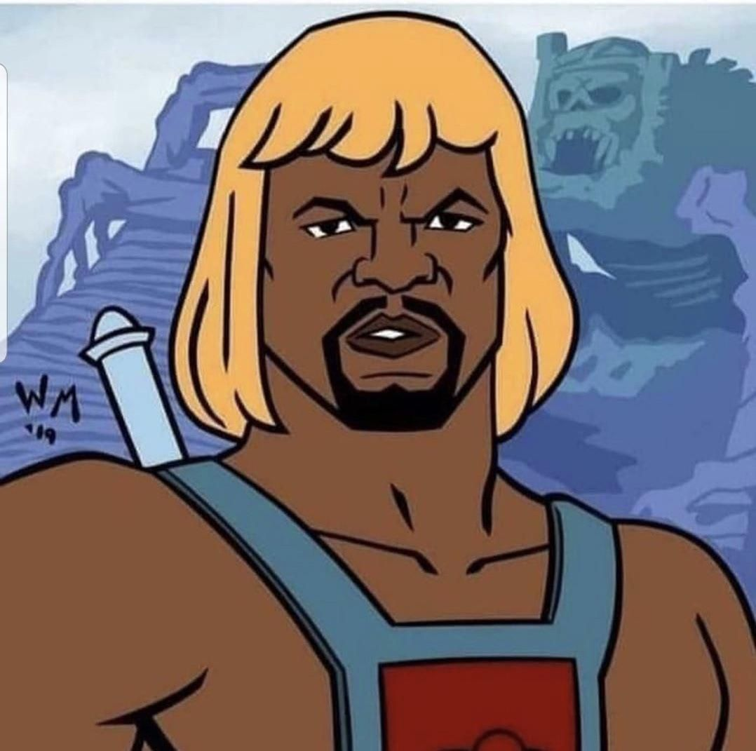 Now this is the Live Action casting I want to see! Terry Crews as He-Man.