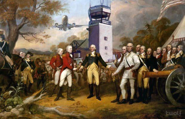 Conquering airports since 1770s