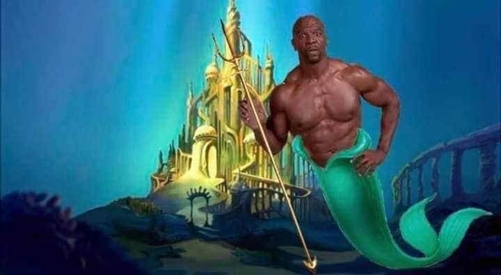 With the new Little Mermaid coming out, I think we all know who should be cast as Poseidon