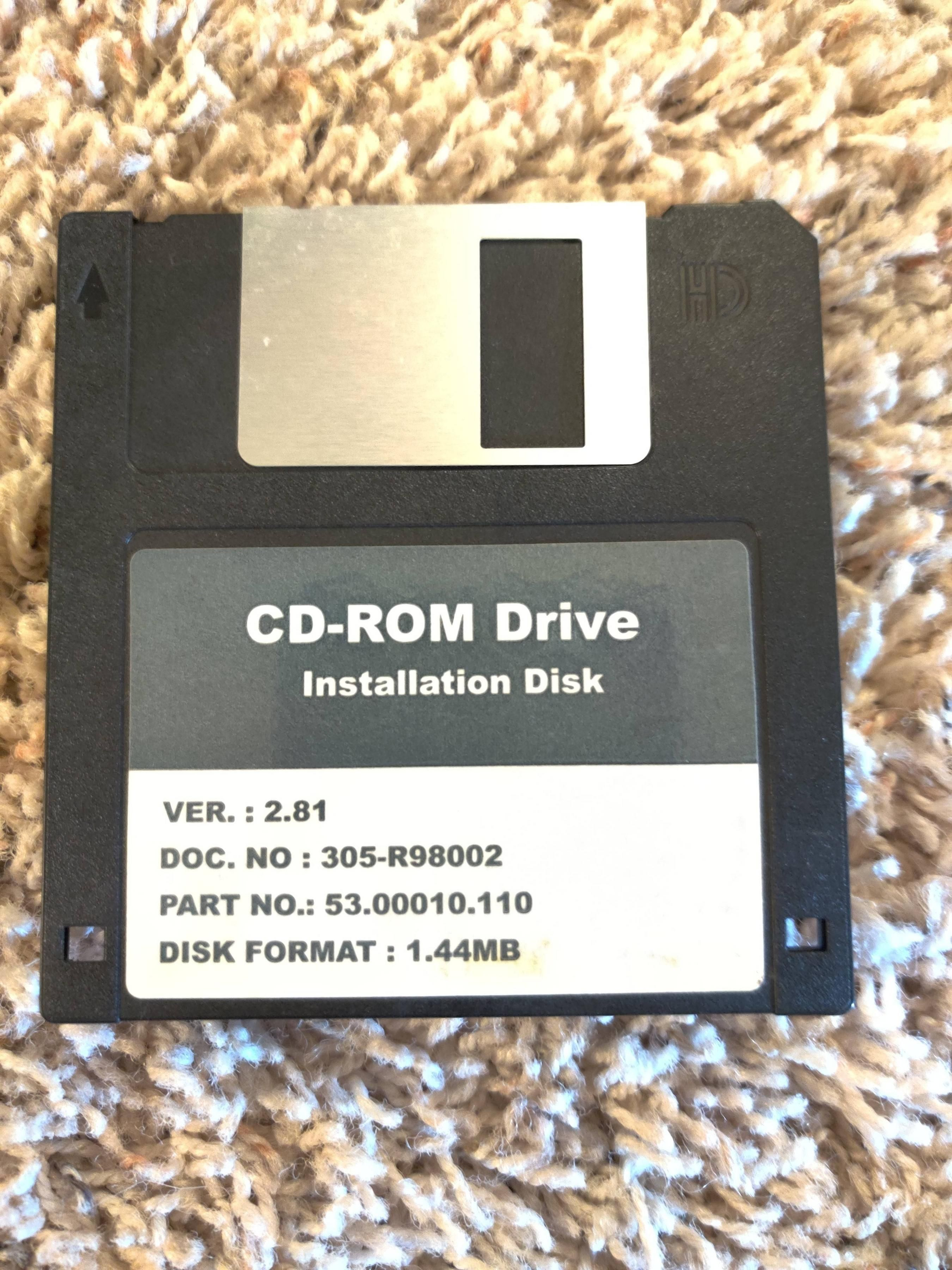 The floppy disk to end all floppy disks.