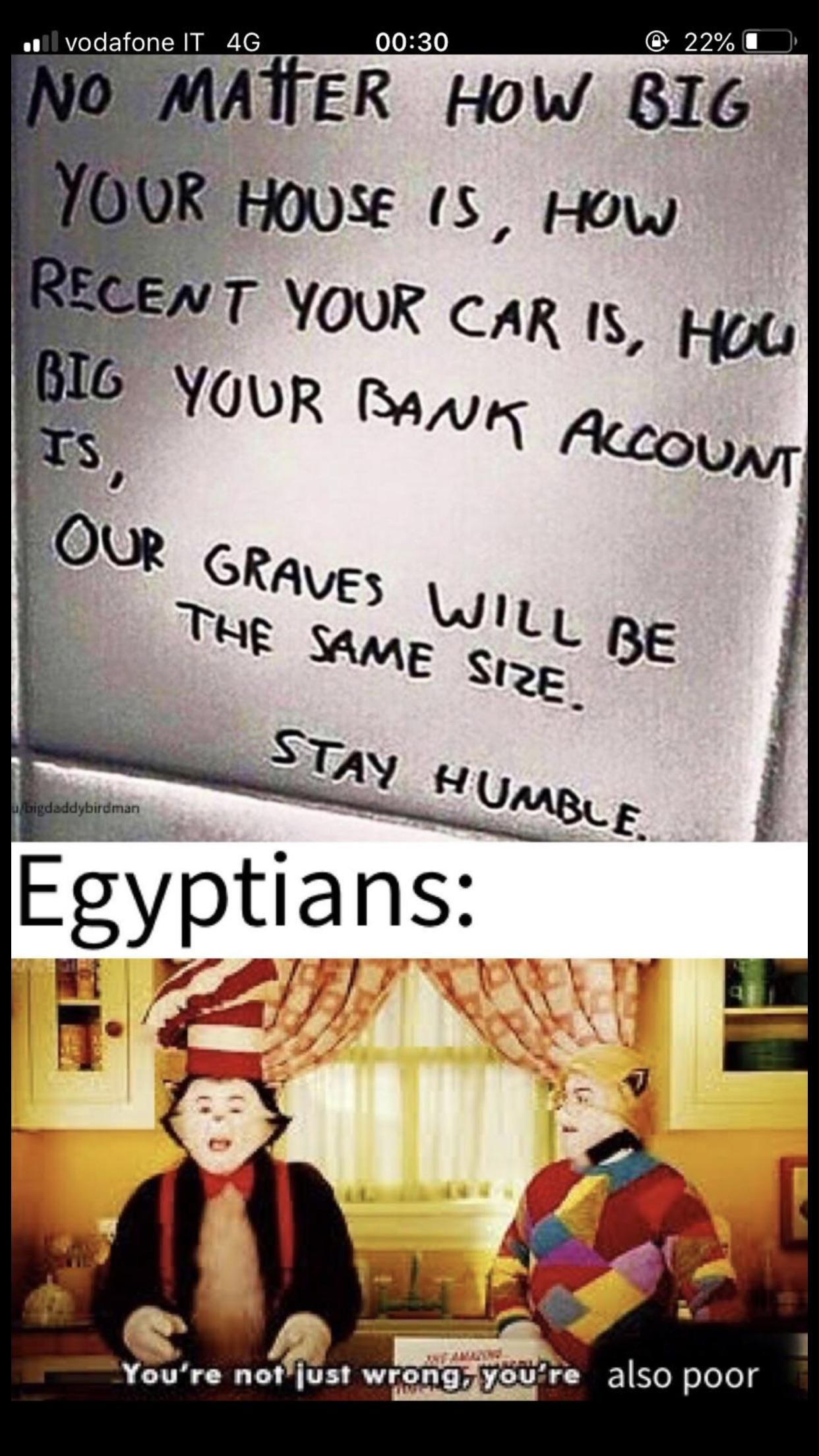 Egyptians were living the good life