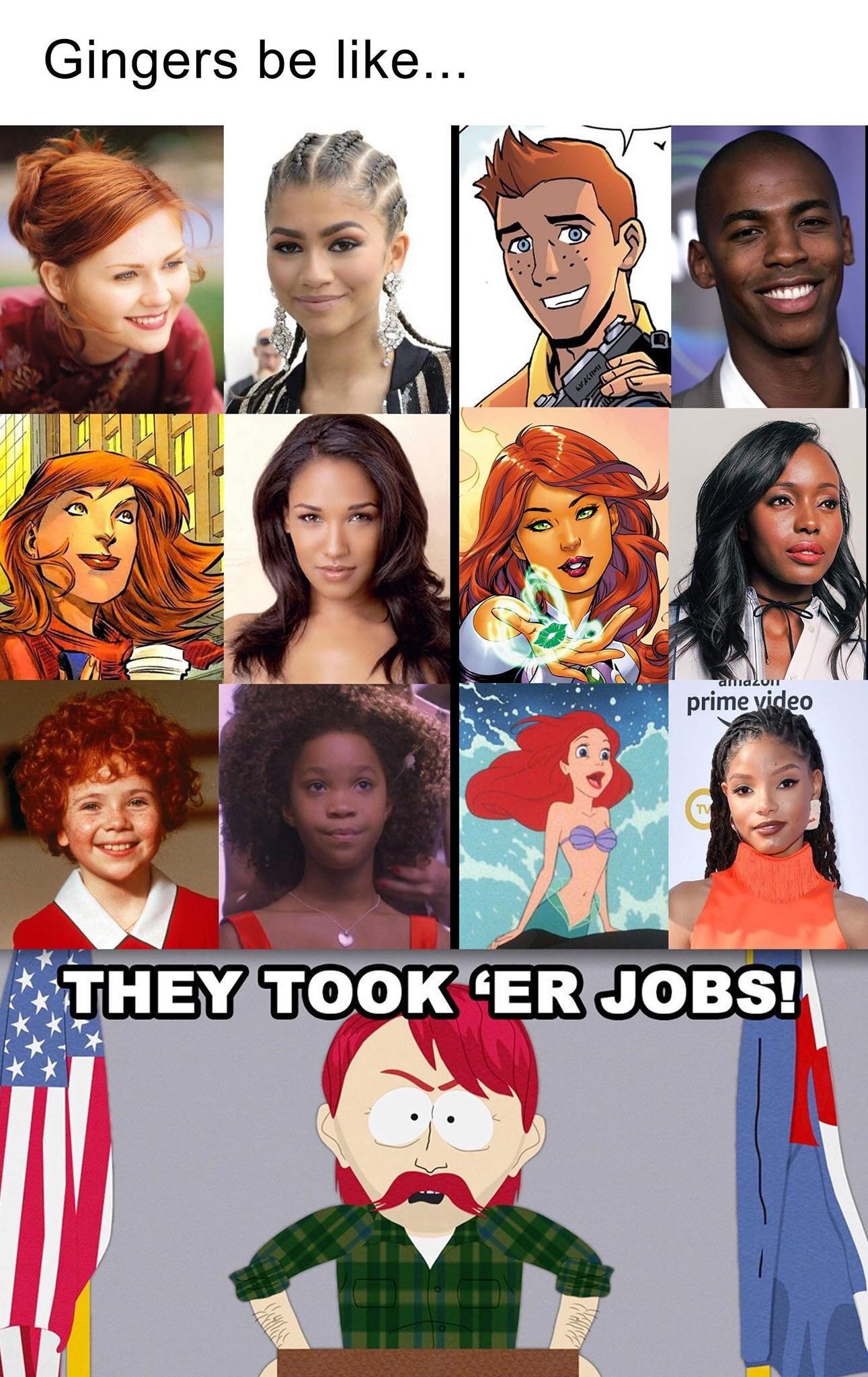 Poor gingers...