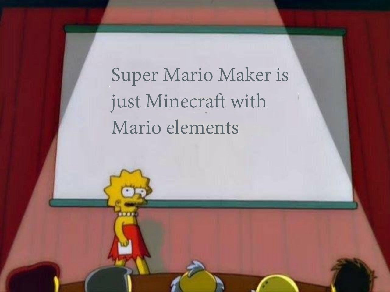 That´s funny Luigi...