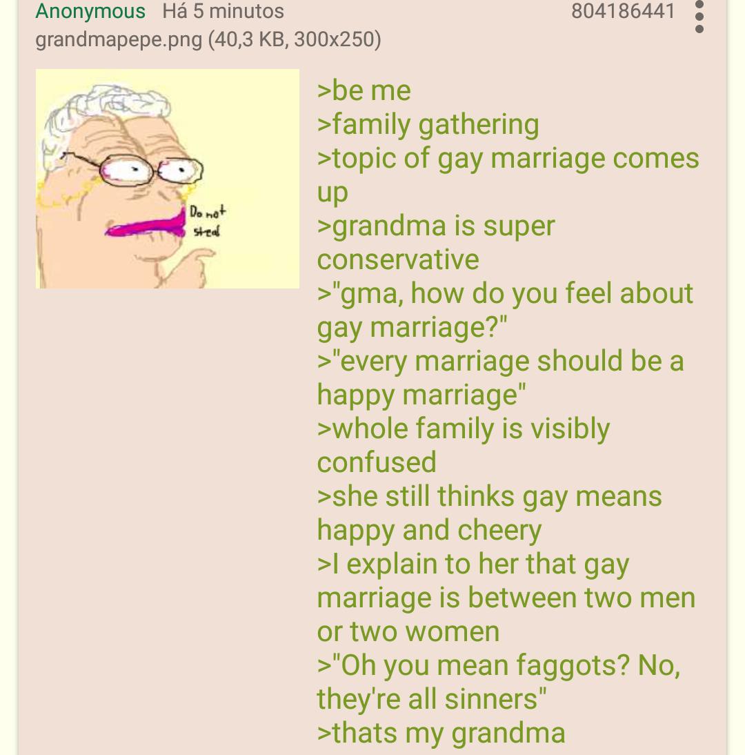 Anon's grandma