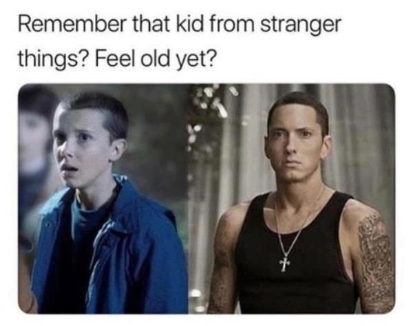 I feel OLD, I mean 46 years OLD.