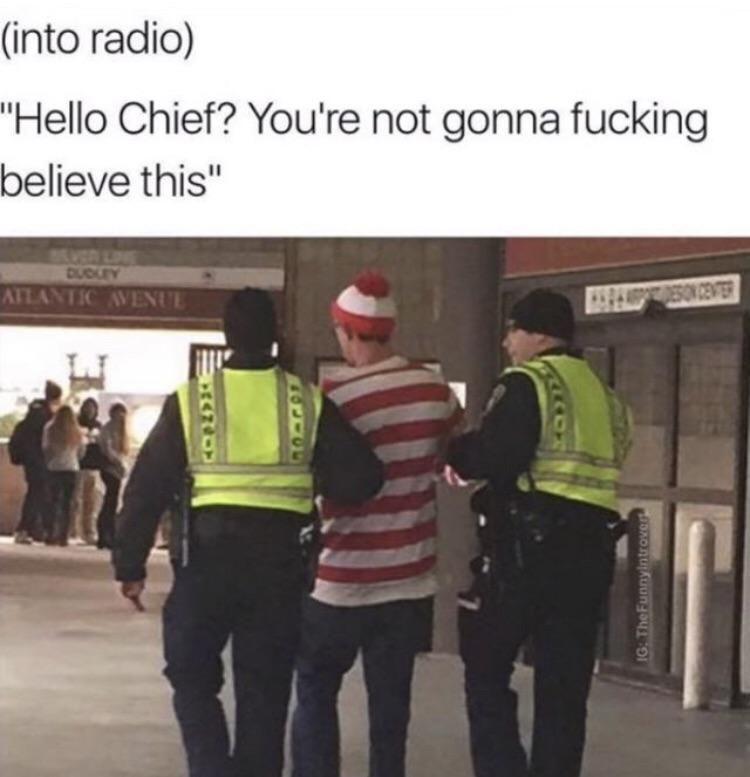 No not Waldo