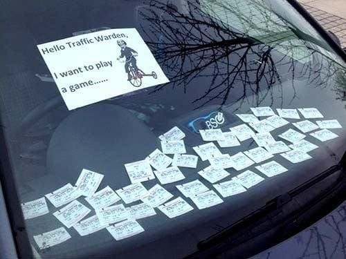 Hello traffic warden. I want to play a game.