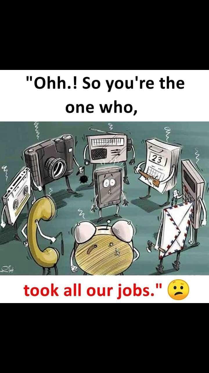 Massive unemployment!