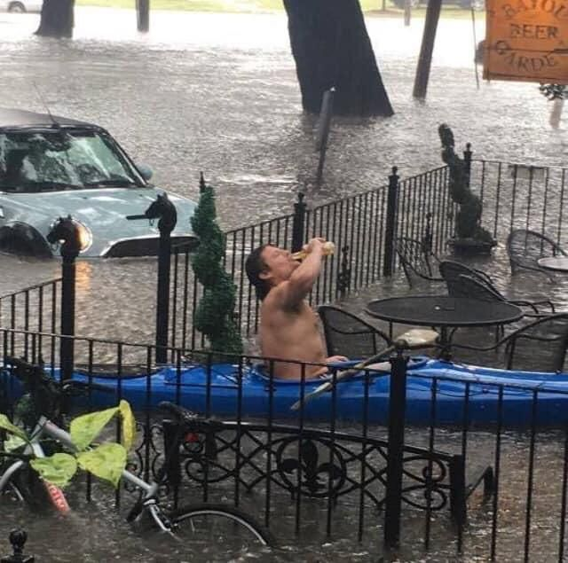 Meanwhile, this morning in New Orleans...