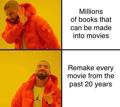 Hollywood in a nutshell