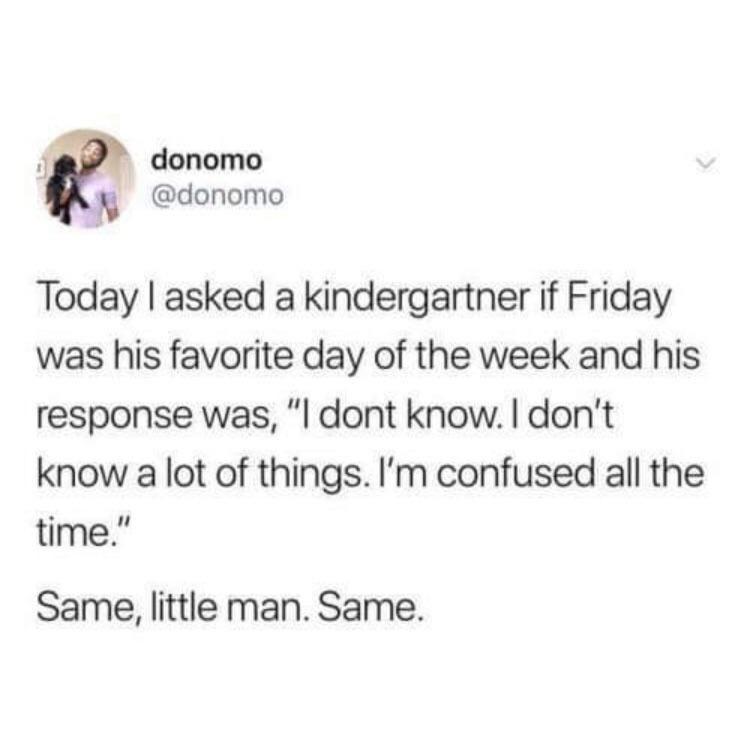 Same little man, same