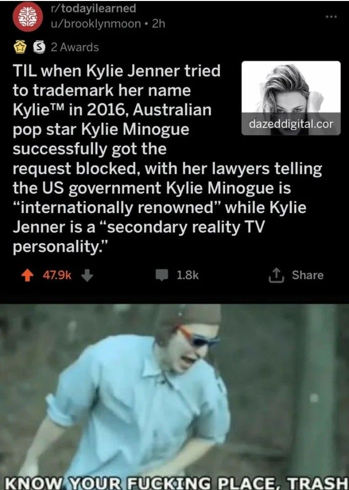 Would the real Kylie please stand up?