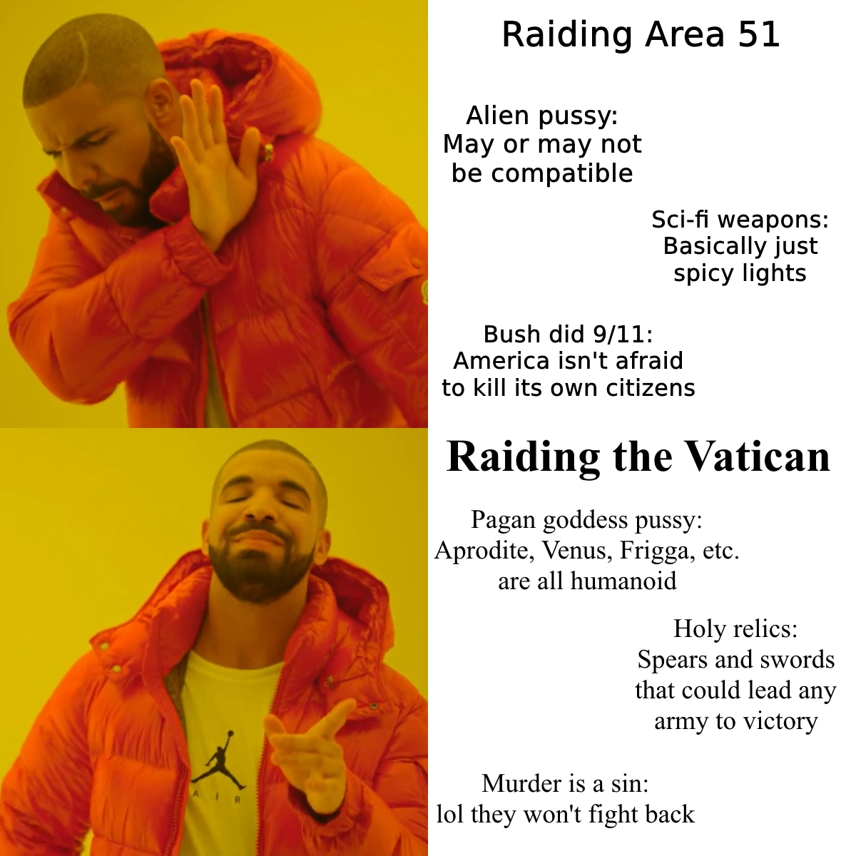 The Pontifex Swiss Guard won't know what hit them