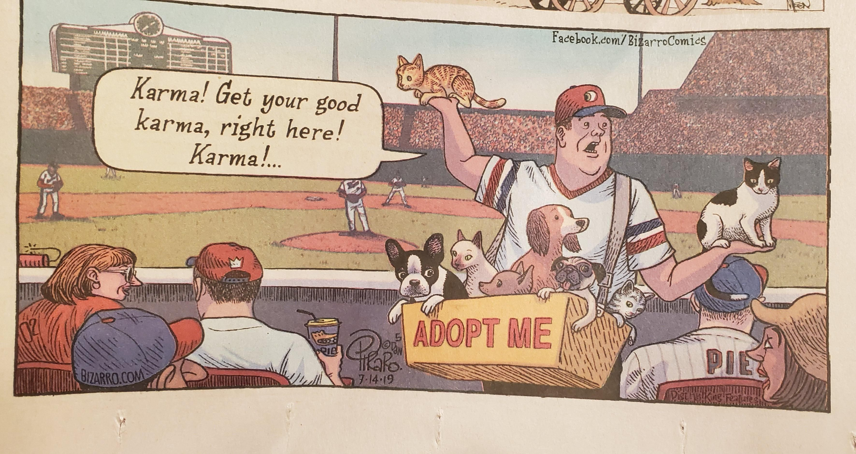 Noticed this yesterday in the Sunday comic strips.