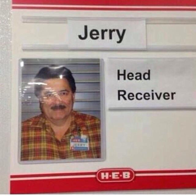 Way to go, Jerry!