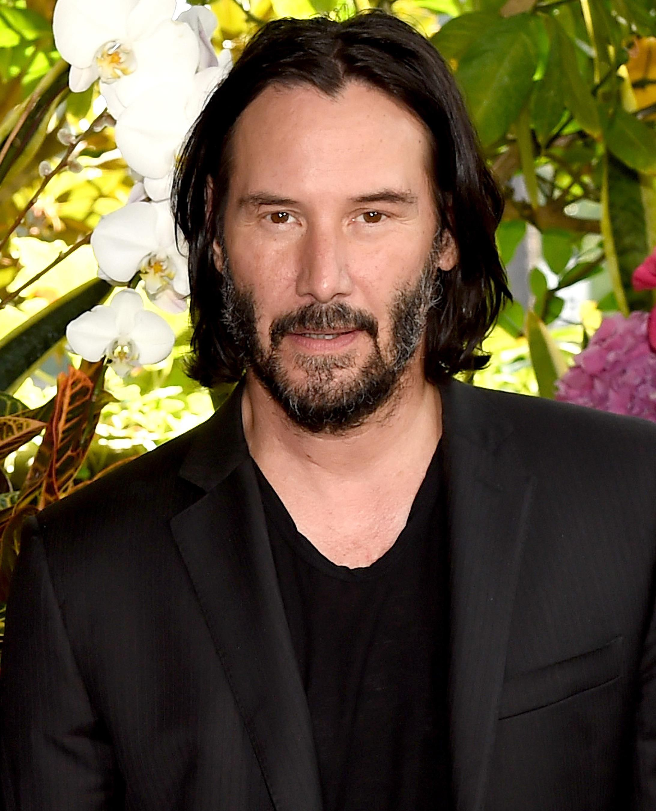 I used FaceApp to age Keanu Reeves.