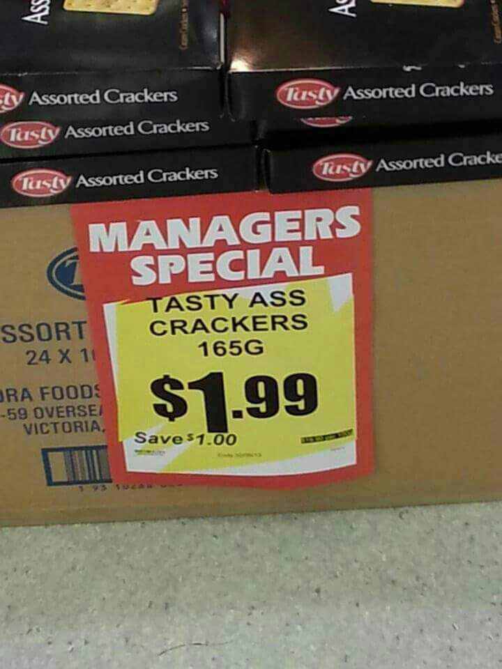 Manger's Special.