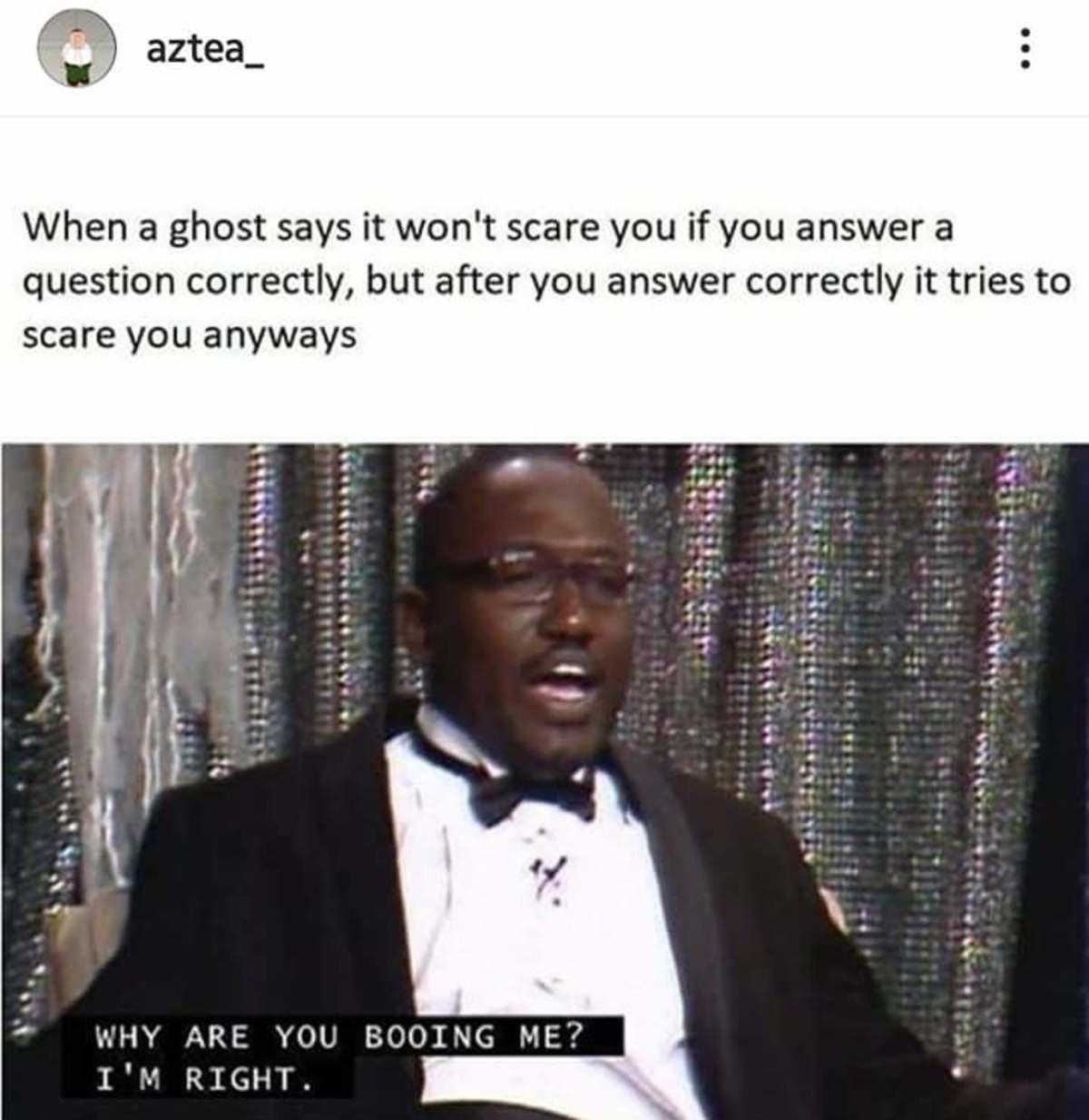 Dumb ghost