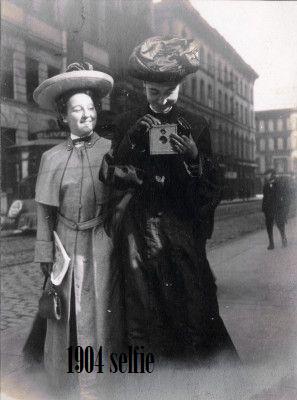 a selfie circa 1904