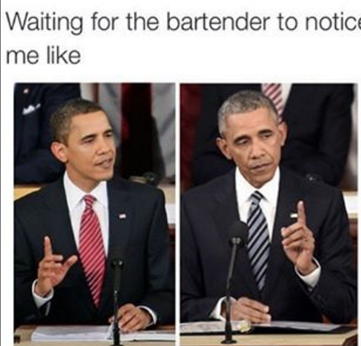 Seems to happen every time i go out to eat