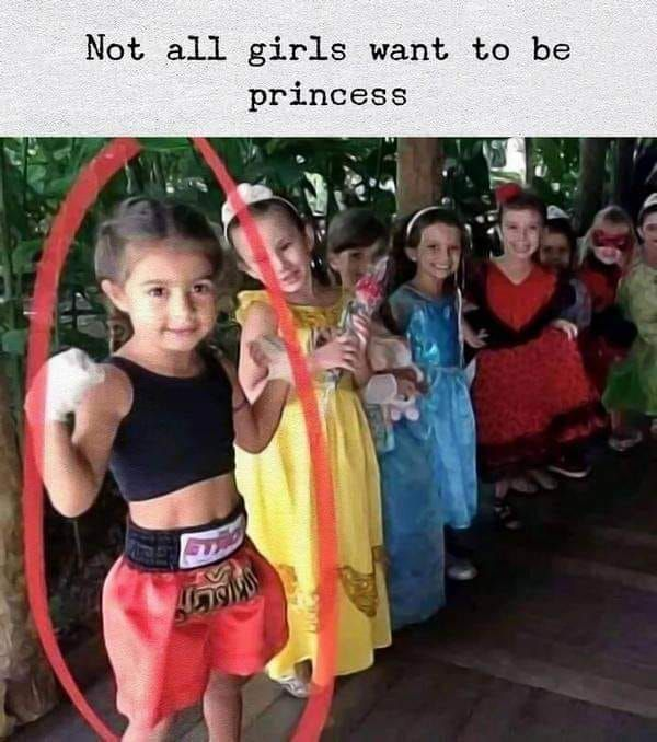 Not all girls want to be a Disney princess