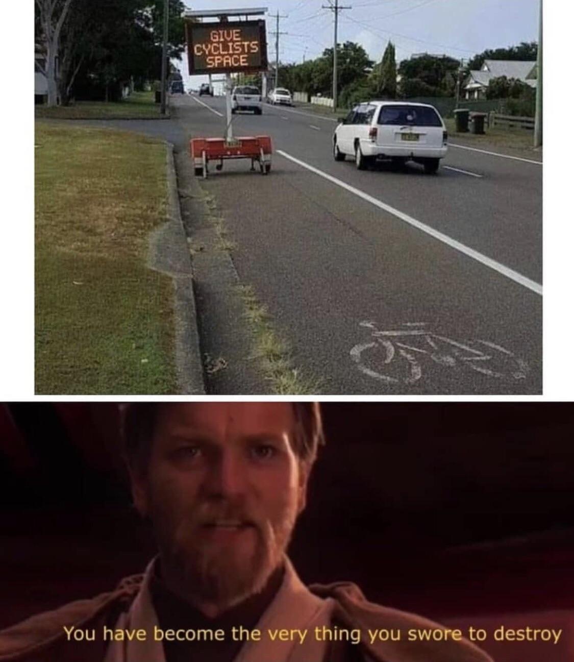You failed me.