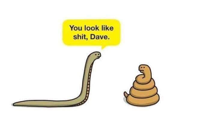 You're better than this, Dave.