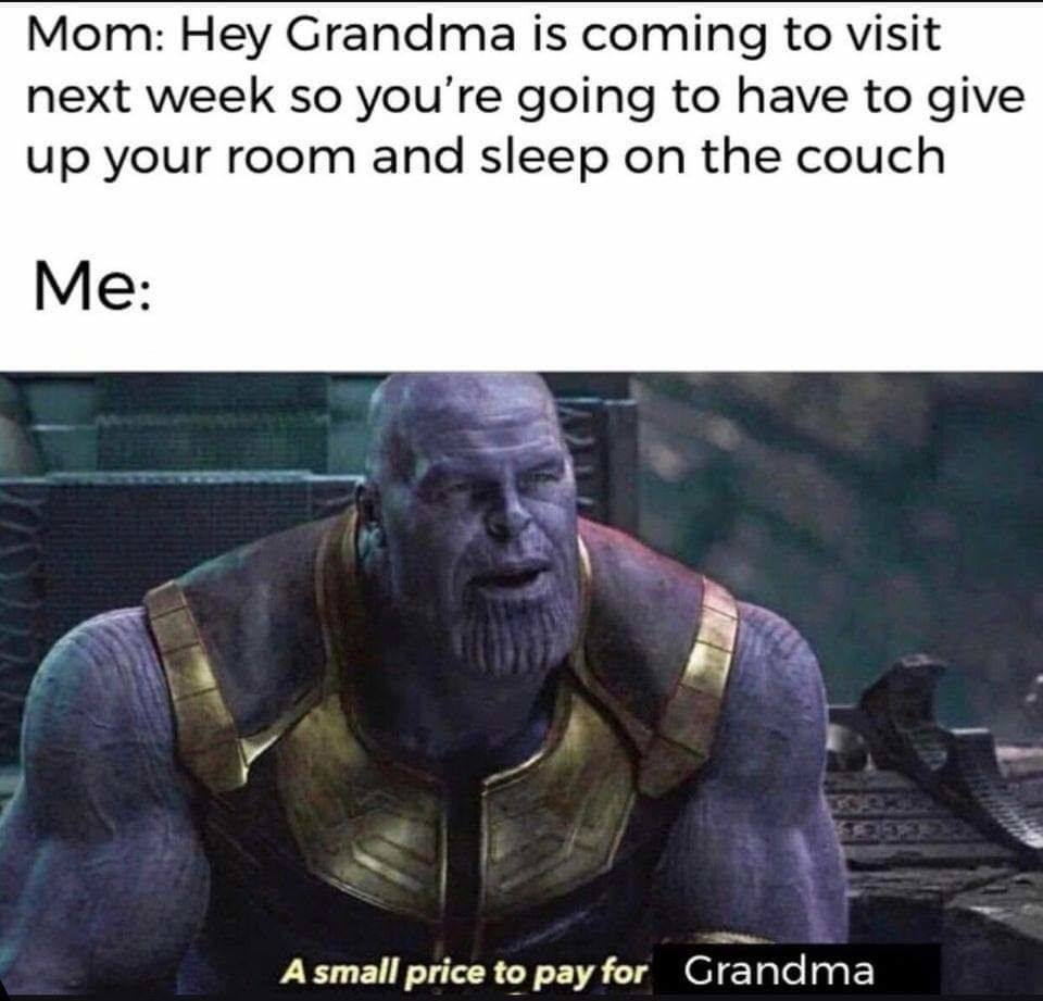 wholesome Thanos