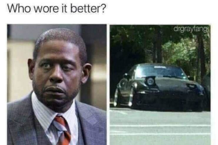 I can't decide who wore it better.