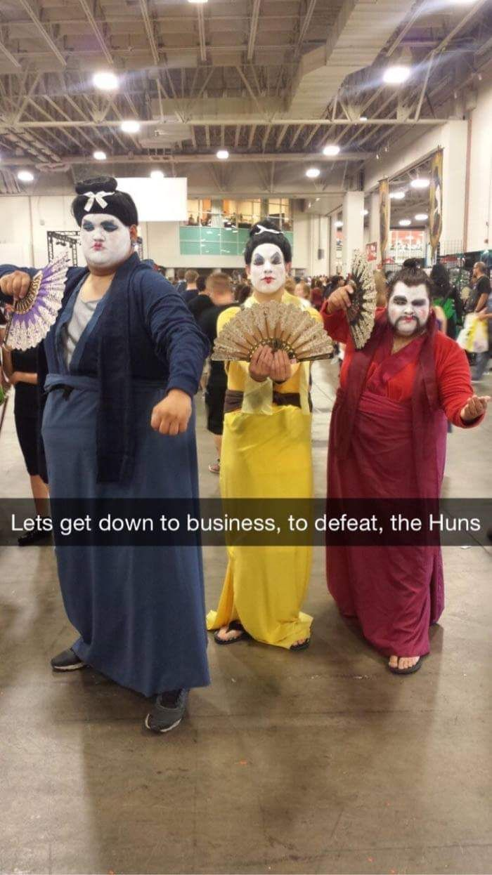 leaked images from the live action mulan movie