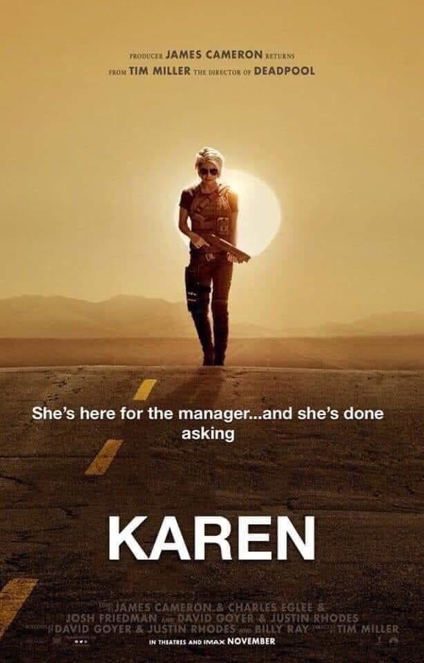 Karen Would Like A Word