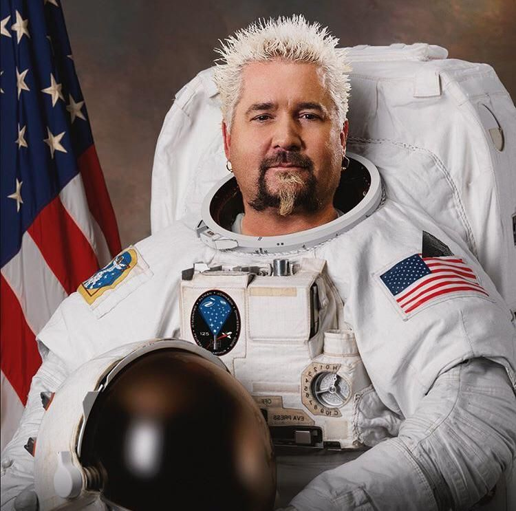 "From Guy Fieri's Instagram: ""When the flavor is out of this world"""